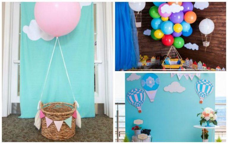Фотозона на детский день рождения для мальчика