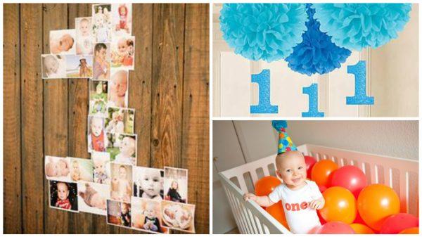Оформления дня рождения 1 год своими руками фото фото 76