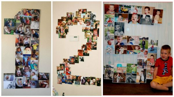 Идеи для коллажа из детских фото