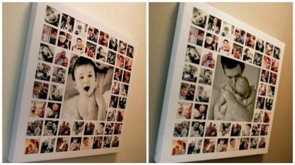 коллаж из фотографий на день рождения ребенка