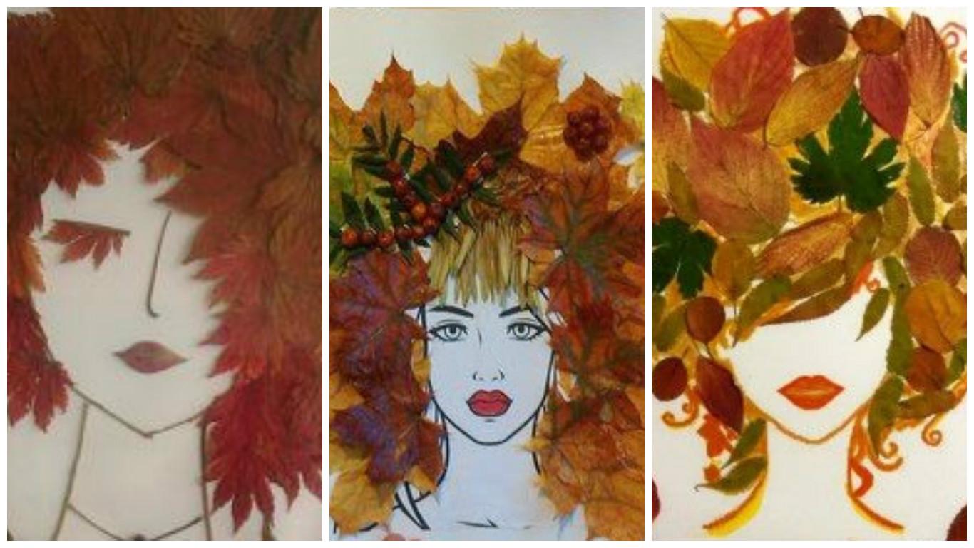 Картинки про осеннюю ярмарку цветными карандашами