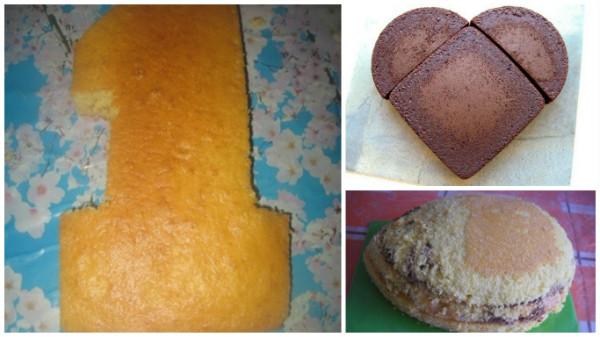 украшение торта дома
