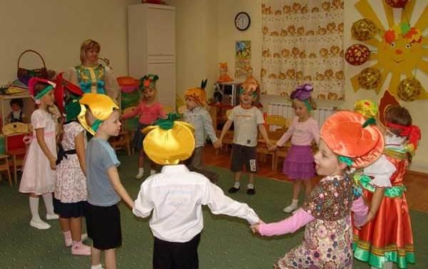 Проведение праздника в детском саду