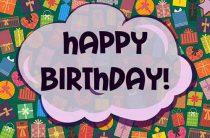 Открытки «С днем рождения»: 58 вариантов для девочки