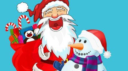 Веселые новогодние игры и конкурсы для детей: 51 вариант