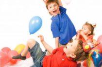 Домашние игры для детского Дня рождения