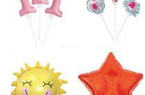 Надуваем фольгированные шары дома