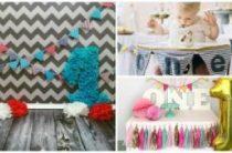 Как организовать и отметить первый День рождения ребенка